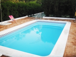 Coronamiento piscina modelo Altair