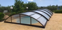 Cubierta telescopica piscina Rita 8 5 X 4 20 Mts