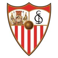 Escudo Fútbol Adhesivo piscina Sevilla F C