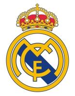Escudo Fútbol Adhesivo piscinas Real Madrid