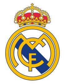 Escudo F  tbol Adhesivo piscinas Real Madrid