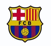 Escudo Fútbol Adhesivo piscina F C  Barcelona