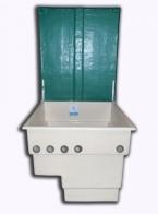 Tapa para caseta depuradora piscina de 400 mm