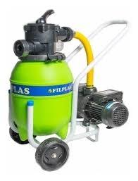 Depuradora portatil para piscina filtro 480 mm