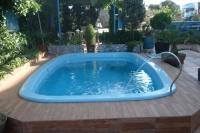 Manta térmica solar piscina Rosa