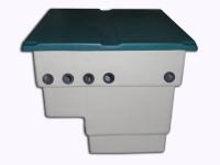 Tapa Caseta Depuradora Verde 600 mm 1 15 X 1 31 MTS