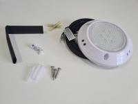 Foco extraplano piscina LED blanco 10 W ABS 15 cm resina
