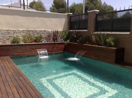 Cascada piscina WP LED
