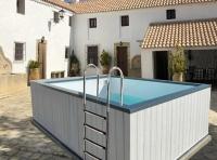 Manta térmica solar piscina Hércules